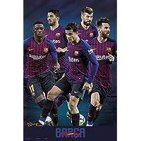 Close Up Póster FC Barcelona - Jugadores