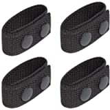 LUITON Duty Belt Keeper with Double Snaps for 2¼' Wide Belt Security Tactical Belt Police Military Equipment Accessories…
