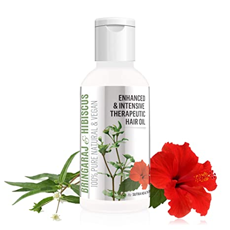 Buy Vriddhi Intensive Bhringraj And Brahmi Hair Oil With Hibiscus
