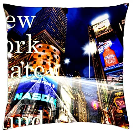 New York State Of Mind - Funda de cojín (18: Amazon.es: Hogar
