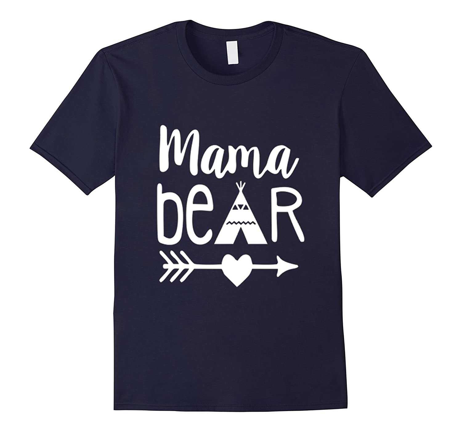 Cute Mama Bear T-Shirt-TD