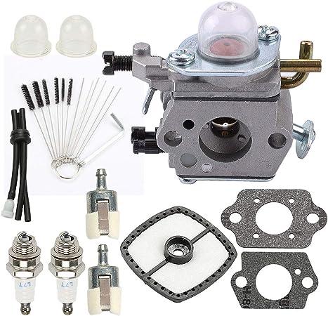 Carburetor For Echo ES-210 ES-211 PS200 ES210 ES211 Handheld Blower w// Fuel Line