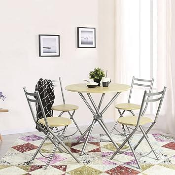 Amazon.de: innovareds Home Einfache, Stilvolle Esstisch und 4 ...