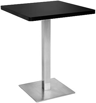 SixBros. Tavolo da Bar Tavolo Alto nero 60x60x75 - M-BT60/1854 ...