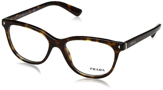 a0c13d3593f6 Prada JOURNAL PR14RV Eyeglass Frames 2AU1O1-52 - Havana PR14RV-2AU1O1-52