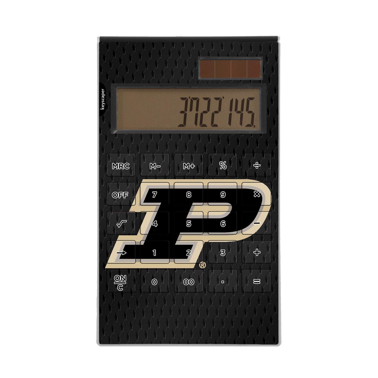 Purdue University Desktop Calculator NCAA by Keyscaper