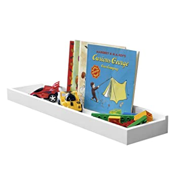 WALLNITURE Floating Nursery Bookshelf