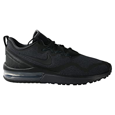 sale retailer acc7e 4cdd2 Image Unavailable. Image not available for. Color  Nike Air Max Fury  Running Shoes Men s Black ...