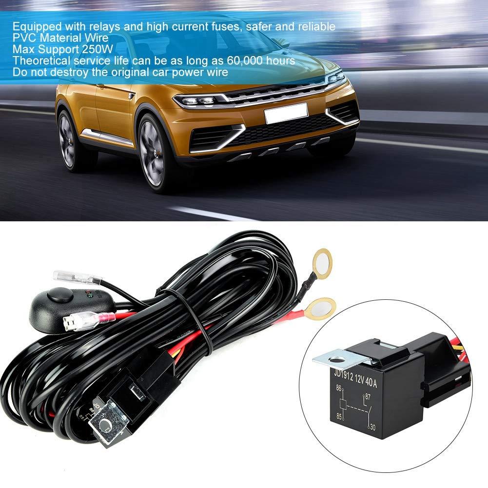 Arnés de cableado LED de Suuonee, lámpara para automóvil 12/24V ...