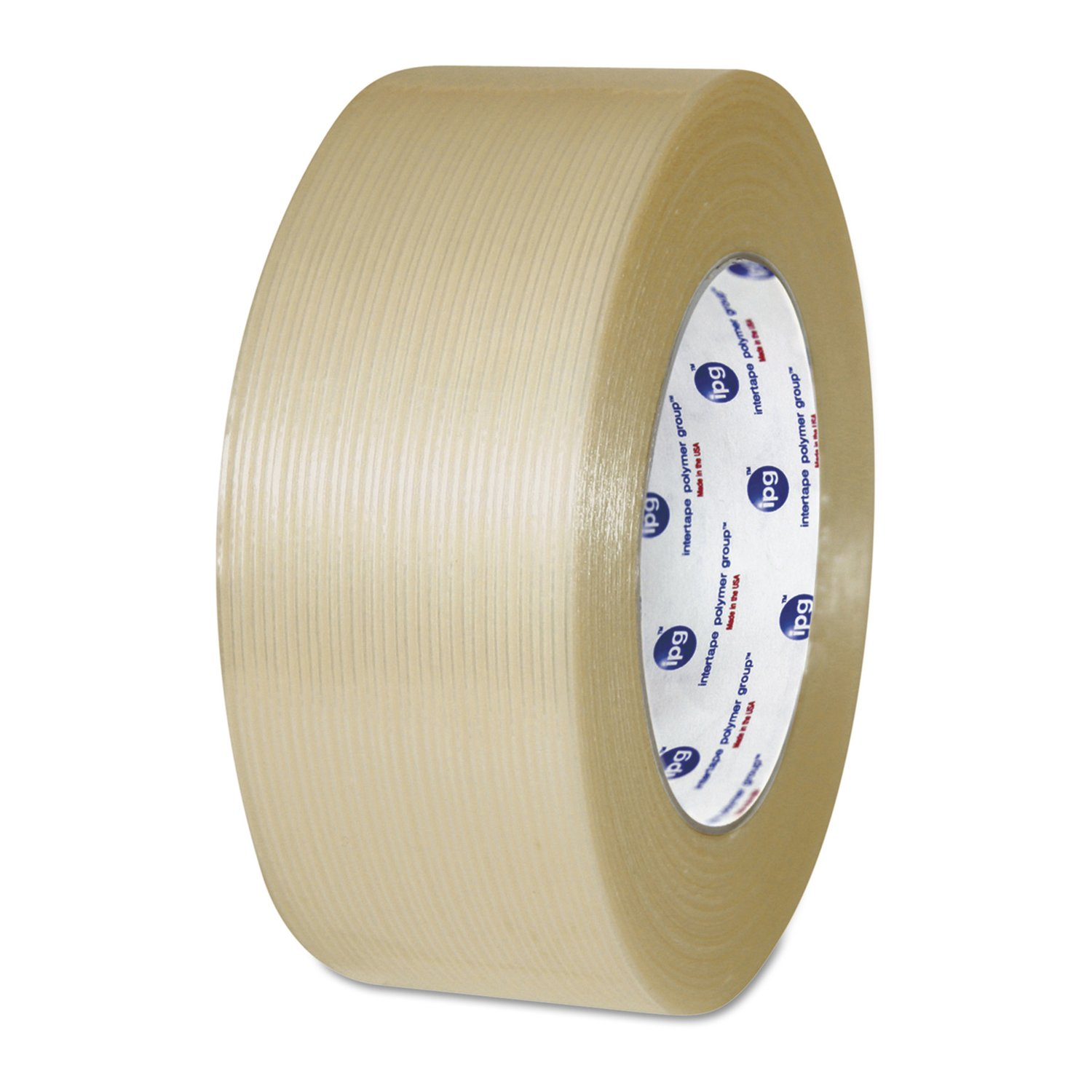 Image of Adhesive Tapes Intertape Polymer Group RG300.43 Clear RG300 Utility Grade Filament Tape, 2' x 60 yd, 100 lb./inch Strength (Pack of 24)