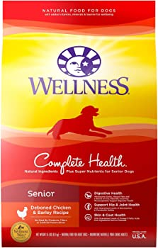 Wellness Complete Health Natural Dry Senior, Chicken & Barley