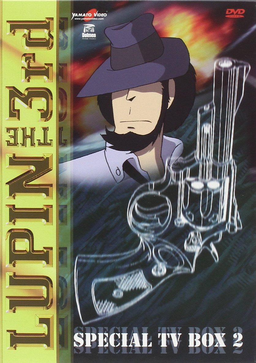 Lupin III Special Tv Box 02 (4 Dvd) by
