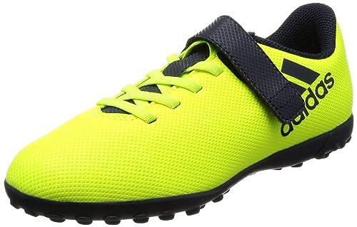 competitive price 675e5 9821f adidas X 17.4 TF J HL, Botas de fútbol Unisex niño, Amarillo-(