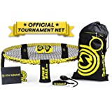 Spikeball Pro Kit (Tournament Edition) - Includes Upgraded Stronger Playing Net New Balls Designed to Add Spin Portable Ball Pump Gauge Backpack Official Serving Line - As Seen on Shark Tank TV