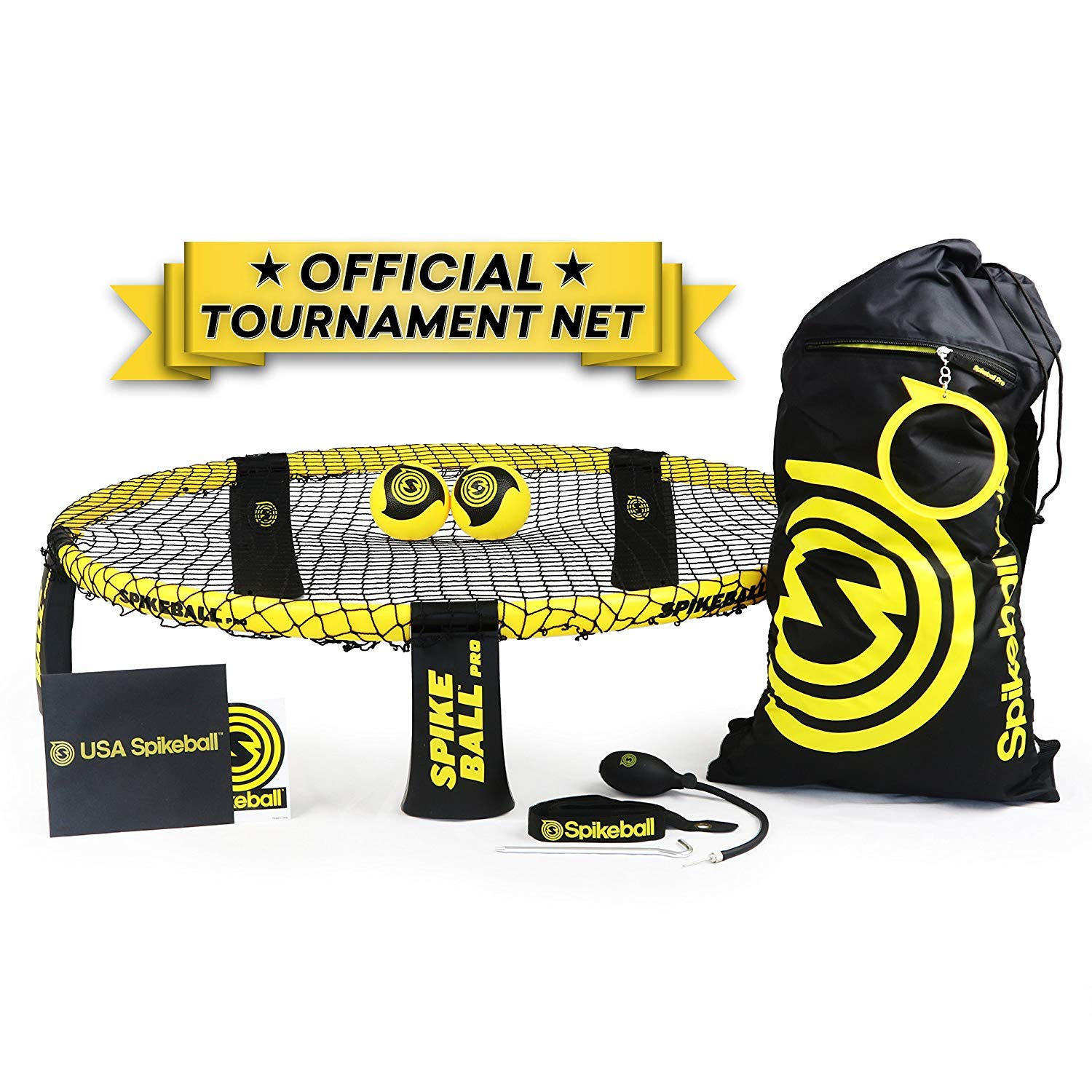 Amazon Spikeball Pro Kit Tournament Edition Includes