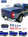 Tyger Auto TG-BC3T1032 Tri-Fold Pickup Tonneau Cover (Fits 07-13 Toyota Tundra (with/without utility track) 5.5 feet (66 inch))