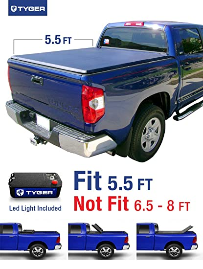 Amazon tyger auto tg bc3t1032 tri fold truck bed tonneau cover tyger auto tg bc3t1032 tri fold truck bed tonneau cover 2007 2013 toyota freerunsca Image collections