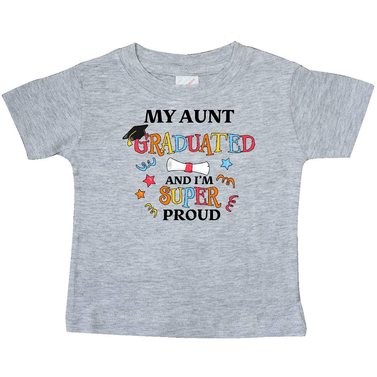 inktastic My Aunt Graduated and Im Super Proud Baby T-Shirt