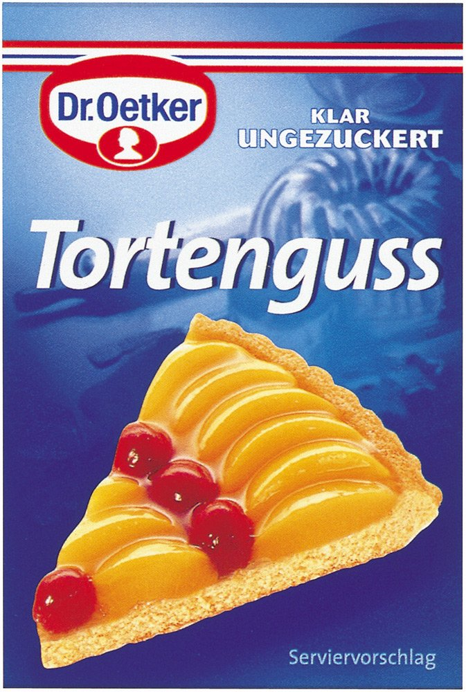 Dr. Oetker Tortenguss klar