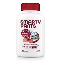 Daily Gummy Multivitamin Kids Cherry Berry: Biotin, Vitamin C, D3, E, B12, A, Omega...
