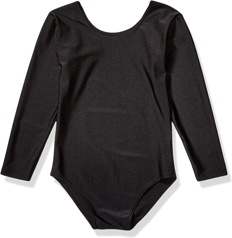 Papaval Girls Kids Long Sleeve Leotard Children Sports School Dance Ballet or Gymnastics Top