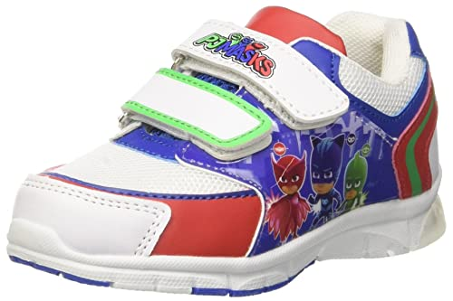 PJ Mask Niños S19850G/AZ Slip On Blanco Size: 25 EU