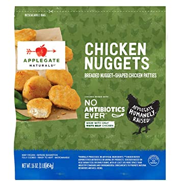 Applegate Natural Chicken Nuggets Family Size 16oz Frozen