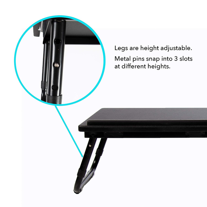 Black Atlantic 33908076 Laptop Stand Desk