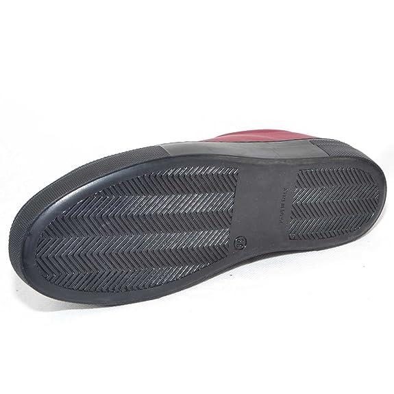 Malu Shoes Sneakers Bassa in Pelle gommata Bordeaux Linea Basic Fondo AntiShock (39) Original De La Venta En Línea Barato 100% Originales Tienda De Venta Descuentos De Venta El Envío Libre 2018 Nueva lhTuD