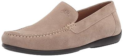 A Geox U Ascanio Beige Hommes Mocassins Pour Chaussures En Daim RAj5L4