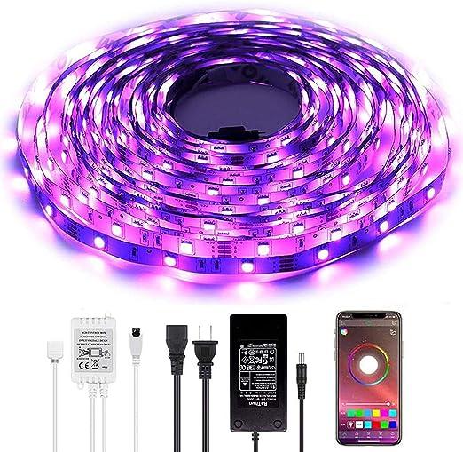 LED Strip Lights Wrrlight 32.8ft Color Changing Light Strip Kit with RF Remote,