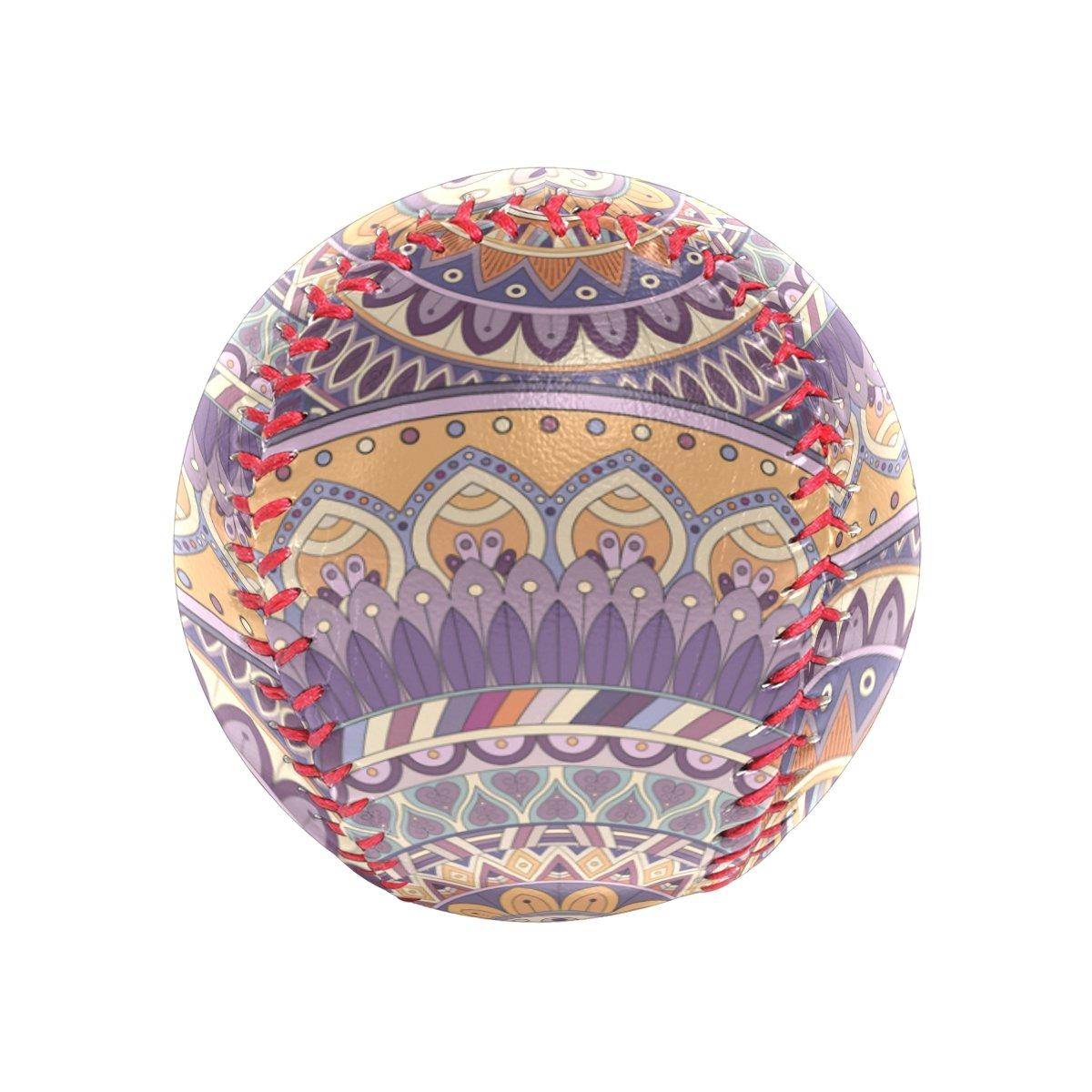 franzibla Indian Mandala Recreational Play Baseball B07DJDHJVM