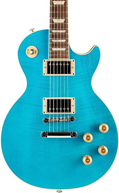 2017 Gibson Les Paul Trad Pro Plus – Guitarra eléctrica, color azul