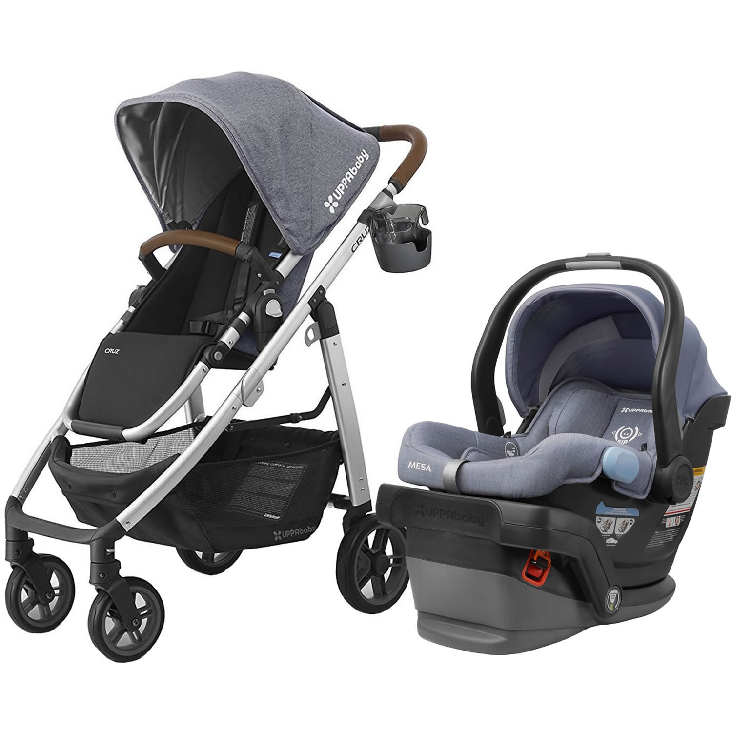 Uppababy 2017 Cruz Stroller With Mesa Car Seat Gregory Henry