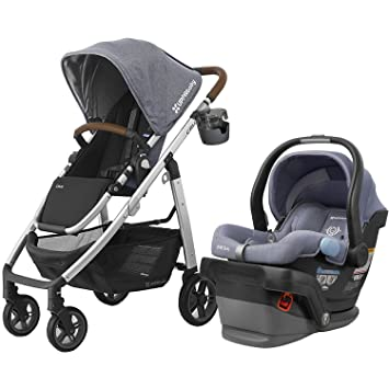 UPPAbaby 2017 Cruz Stroller With Mesa Car Seat