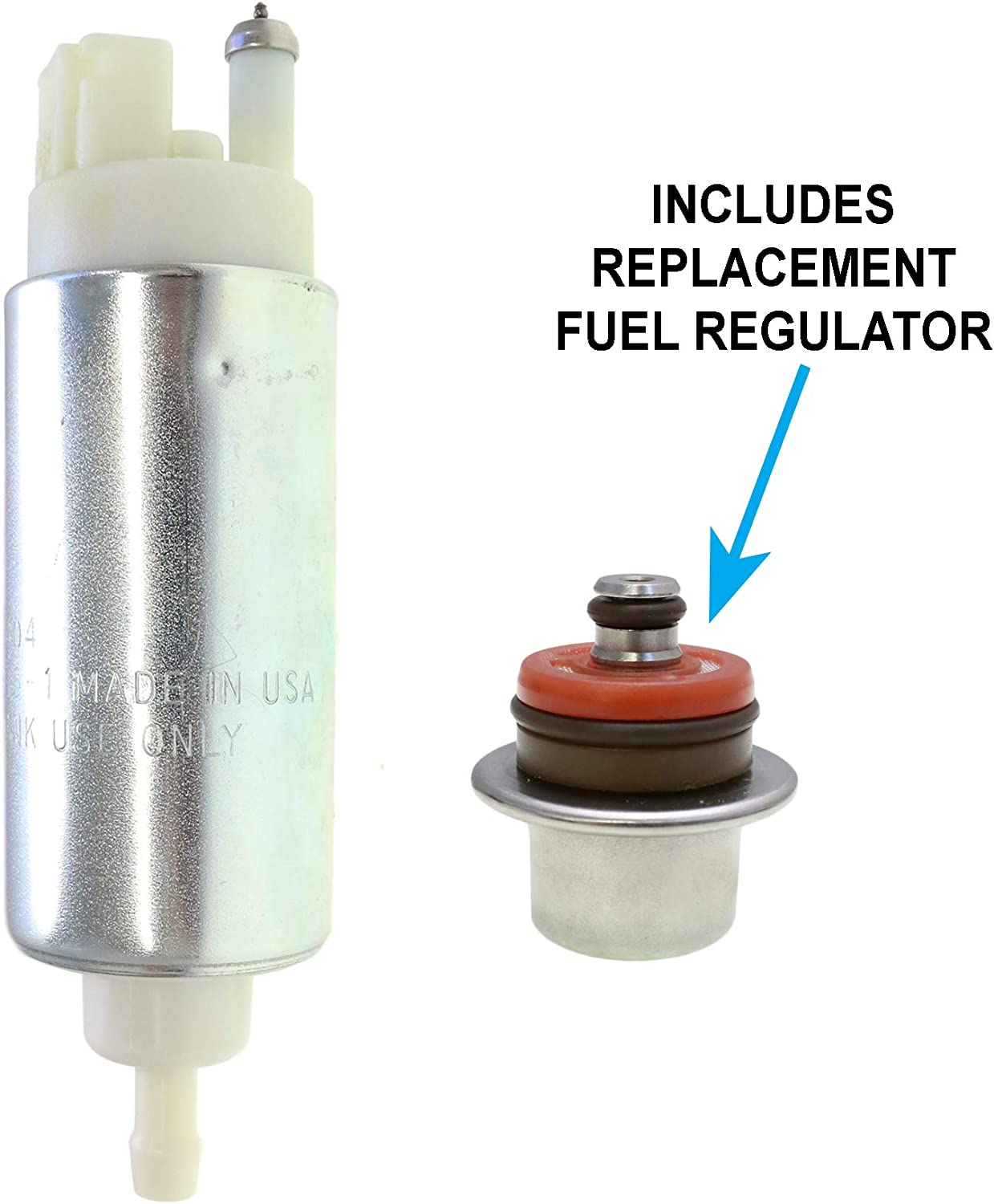 2521047 2520856 2520872 2520874 2521044 HFP-PPN28-R Genuine OEM Fuel Pump with Regulator Replacement for Polaris 600 IQ Shift ES//IQ Touring Cleanfire//RMK//Voyager EFI Replaces 2521048 2877636