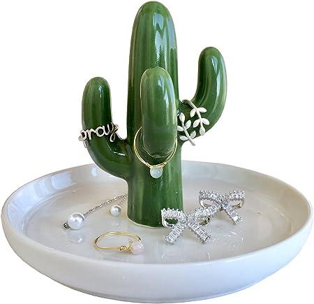 Amazon.com: RaseHouse Cactus Anillo soporte plato para ...