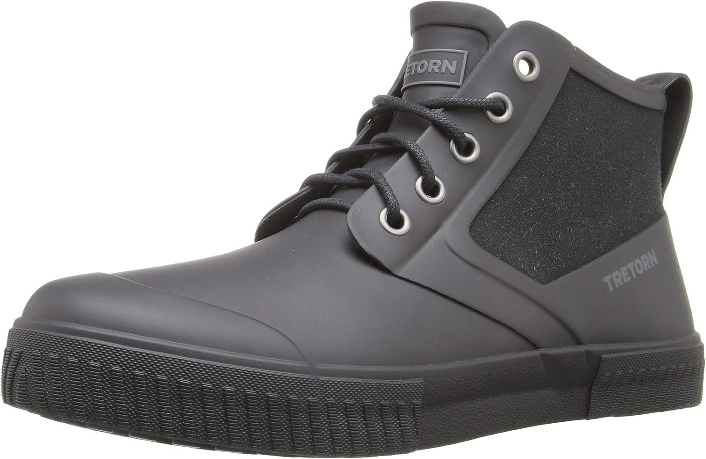 Men's Gill Rubber High-Top Rain Shoe