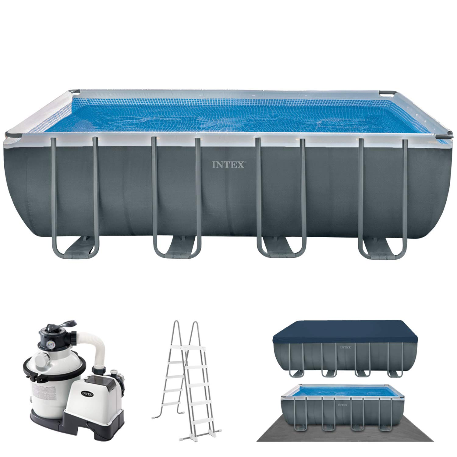 Intex 28352 Ultra Frame - Piscina (549 x 274 x 132 cm): Amazon.es: Jardín