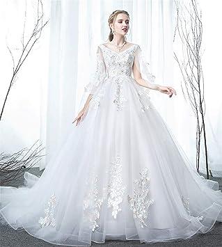Vestido de novia para mujer embarazada