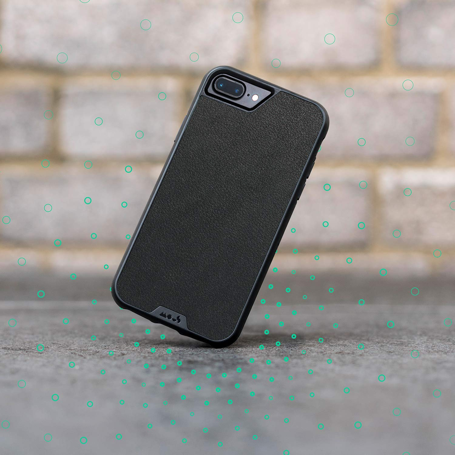 Mous Protective iPhone Case 8+/7+/6s+/6+ Plus - Black Leather - Limitless 2.0 by MOUS (Image #6)
