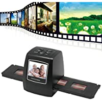 Digitnow 5/10Megapixels Stand Alone 2.4'' LCD Display Film/Slide Scanner 1800DPI High Resolution Picture Scanner in USB2.0 Interface Convert To PC