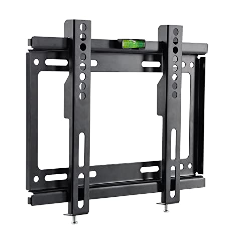 "TV Wall Mount 32/""-55/"" Ultra Flat Fixed Tilt LCD LED Bracket Max Weight 88Lb"