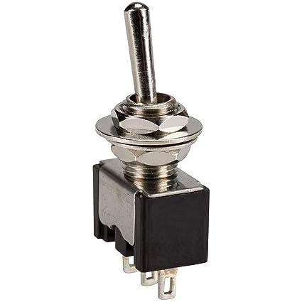 amazon com parts express spdt mini toggle switch electronics rh amazon com