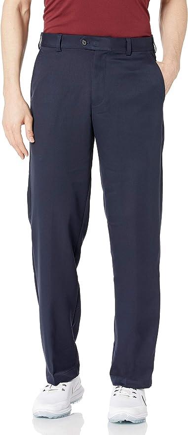 IZOD Men's Golf Microsanded Flat Front Classic Fit Pant