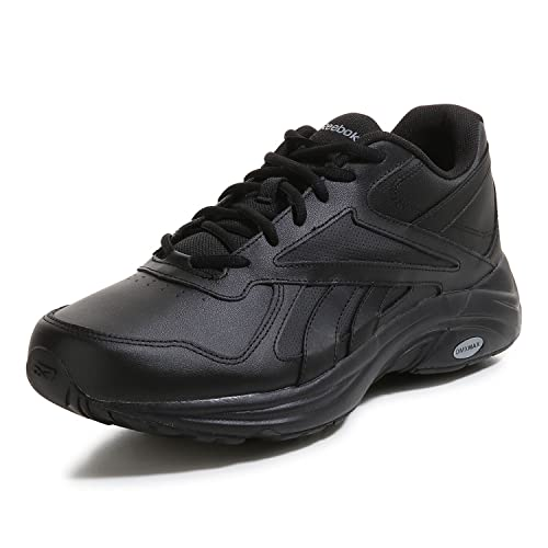 Reebok Walk Ultra V DMX MAX 2E, Zapatillas de Deporte para Hombre, Negro (Black/Black), 43 EU