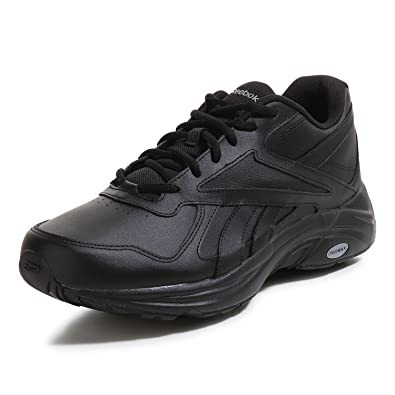 Reebok Men's Walk Ultra V DMX Max 2E Fitness Shoes, Black (Black/Black