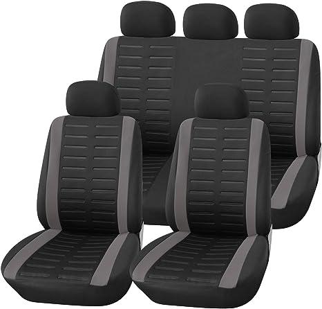 Sitzbezüge schwarz hinten ARE FORD FOCUS
