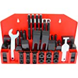 "PENSON & CO. 5/8"" T-Slot Clamp Kit 58 pcs 1/2""-13 Stud Hold Down Clamping Set Upgraded for Bridgeport Mill"