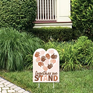 product image for Big Dot of Happiness Together, We Stand - Outdoor Lawn Sign - We Believe Yard Sign - 1 Piece